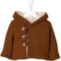 Aletta Hooded Duffle Coat - Marrom