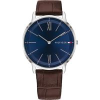 b48d992f427 Relógio Tommy Hilfiger Masculino Couro Marrom - 1791514