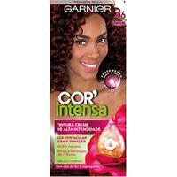 Tintura Garnier Nutrisse Cor Intensa 4.6 Castanho Vermelho