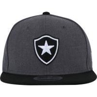 Boné Aba Reta Do Botafogo New Era 950 Sn Concept - Snapback - Adulto - Cinza 13701fabfd9