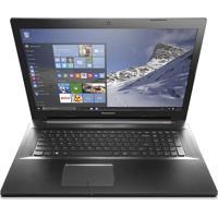 """Notebook Lenovo B40-70-80F - Intel Core I3 4005U - Hd 500Gb - Ram 4Gb - 14"""" - Prata- Windows 8.1 Pro"""