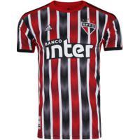 Camisa Do São Paulo Ii 2019 Adidas - Masculina - Vermelho/Preto