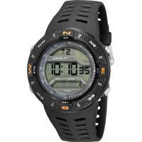Kit De Relógio Digital Speedo Masculino + Carregador Portátil - 81199G0Evnp2Ka Preto