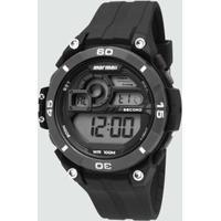 4cf6c96b45a Relógio Mostrador Preto - MuccaShop