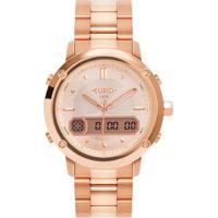 Relógio Euro Sporty Lux Feminino - Feminino-Preto