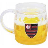 Caneca Cerveja Base Grossa 400Ml - Flamengo - Unissex-Incolor