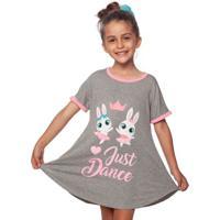 Camisola Bailarina- Cinza & Rosa Claropuket
