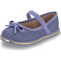 Sapatilha Infantil Baby Molekinha - 2132102 Azul 20