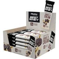 Barra De Chocolate Proteína Best Whey - Caixa C/ 12 Unid - Atlhetica Nutrition - Unissex