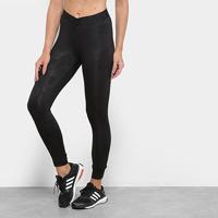 Calça Legging Adidas Ask Sport 2.0 Relevo Feminina - Feminino-Preto