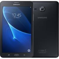 "Tablet Samsung Galaxy Tab A Sm-T285, Tela De 7.0"", 4G, Quad Core, Android, 8Gb, 1.5Gb Ram, Camera Frontal 2Mp E Traseira 5Mp - Preto"