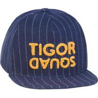 Boné Infantil Tigor T. Tigre Masculino - Masculino-Azul