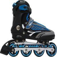 Patins Rollers B Future Inline Bel Sports Azul - Unissex-Marinho