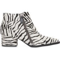 Bota Feminina Pelo Zebra - Animal Print