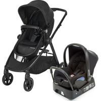 Carrinho De Bebê Com Bebê Conforto Citi Travel System Anna Nomad Preto - Maxi-Cosi