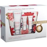Clarins Body Care Collection Kit - Loção Corporal + Esfoliante + Creme Para Mãos E Unhas Kit - Unissex-Incolor