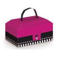 Caixa Maleta Maquiagem Fashion Show Cromus