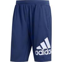 Bermudas E Shorts Adidas 4K Azul