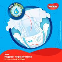 Fralda Huggies Tripla Proteção Tamanho G 48 Tiras