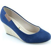 Sapato Anabela Moleca 5270525