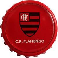 Abridor De Garrafa Flamengo Tampão 3 - Unissex