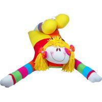 Travesseiro Feliz Idade Menina Multicolorido - Kanui