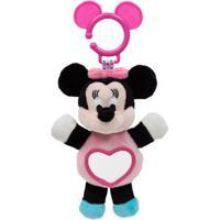 Pelúcia De Atividades - Disney - Minnie Mouse Com Espelhinho - Buba