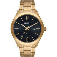 Relógio Analógico Orient Masculino - Mgss1182 G2Kx Dourado