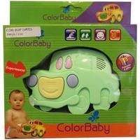 Brinquedo Musical Color Baby Carrinho Verde