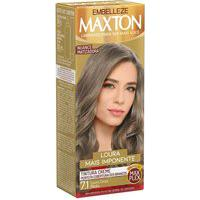Tintura Creme Maxton 7.1 Louro Cinza Médio Com 1 Unidade 1 Unidade