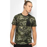 Camiseta Billabong Flamo Masculina - Masculino-Verde