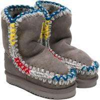 Mou Kids Mueski Boots - Cinza