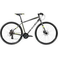 Bicicleta Caloi City Tour Sport - Aro 700 - Freio A Disco Mecânico - 21 Marchas - Cinza
