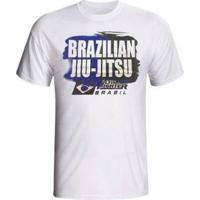 Camiseta Tuf Brazilian Jiu Jitsu Ufc - Masculino-Branco