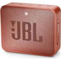 Caixa De Som Bluetooth Jbl Go 2 À Prova Dágua 3W Cinnamon - Unissex