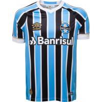 Camisa Umbro Grêmio Oficial 1 2018 Sem Número (Fan)