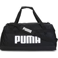 Mala Puma Challenger Duffel Feminina - Unissex-Preto