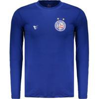 Camisa Bahia Proteção Uv50 Masculina - Masculino-Azul