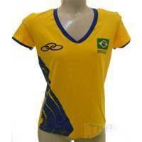 Camisa Olympikus Cbv Feminina 16/17 Amr S/N - Olympikus
