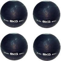 4 Bolas Medicine Slam Ball Para Crossfit 8 Kg - Liveup - Unissex
