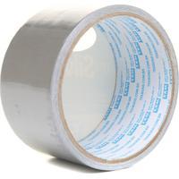 Fita Adesiva Super Tape Prata 48Mm Com 5 Metros