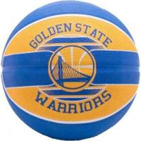 39fba64ef Netshoes  Bola Basquete Spalding Nba Golden Warriors - Unissex