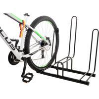 Suporte De Chão Altmayer Al-21 Para 3 Bicicletas Branco