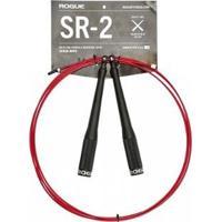 Corda Crossfit Speed Rope Rogue Sr2 - Manopla Aluminio - Unissex