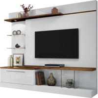 Home Theater Hb Móveis Allure Branco/Canyon