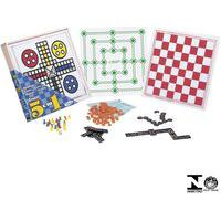 Combo 5 Jogos Ludo Damas Trilha Dominó E Loto 65598 Xalingo