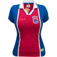 Camisa Polo Retrô Mania Paraná Clube 1997 Caio Jr Feminina - Feminino