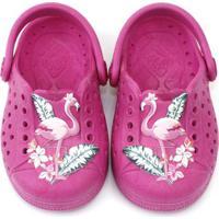 Babuche Infantil Joy Flamingo Plugt Feminino - Feminino-Pink