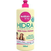Creme Para Pentear Salon Line - Hidra - 500Ml - Unissex-Incolor