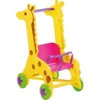 Brinquedo Carrinho De Boneca Girafa Mk 243 Dismat